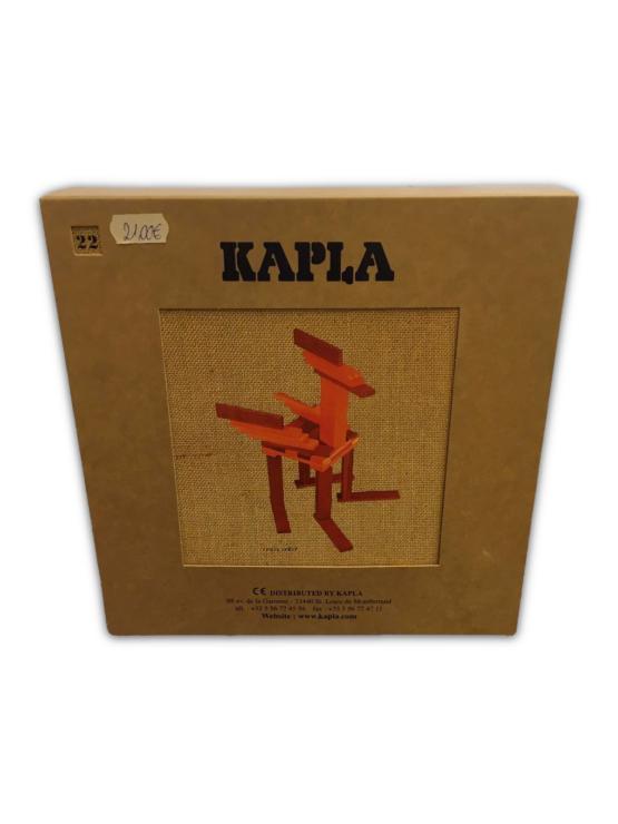 KAPLA Buch und Farben Set